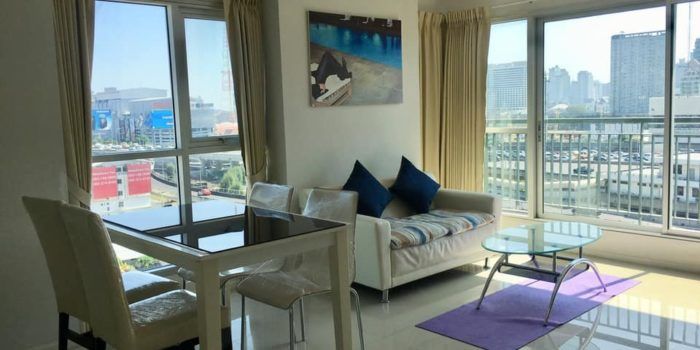 GDN277 Aspire Rema9 (แอสไพร์ พระราม9) at 27000 baht for 2BED 2BATH 66 SQ.M. -MRT Rama9 -Walking about 400 meter